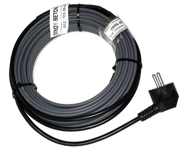 кабель прогрева бетона